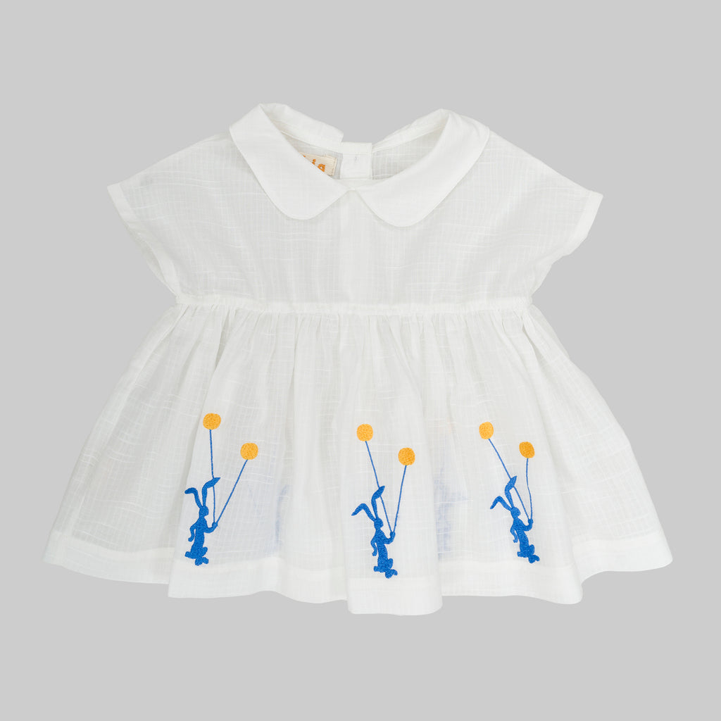 CLAVEL Dress Baby White