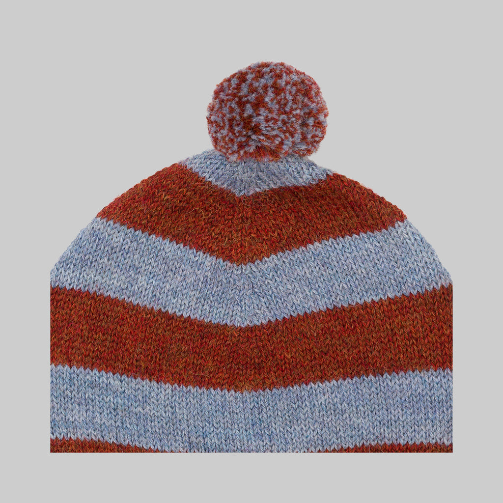 COSMO Hat Brick and Blue Baby