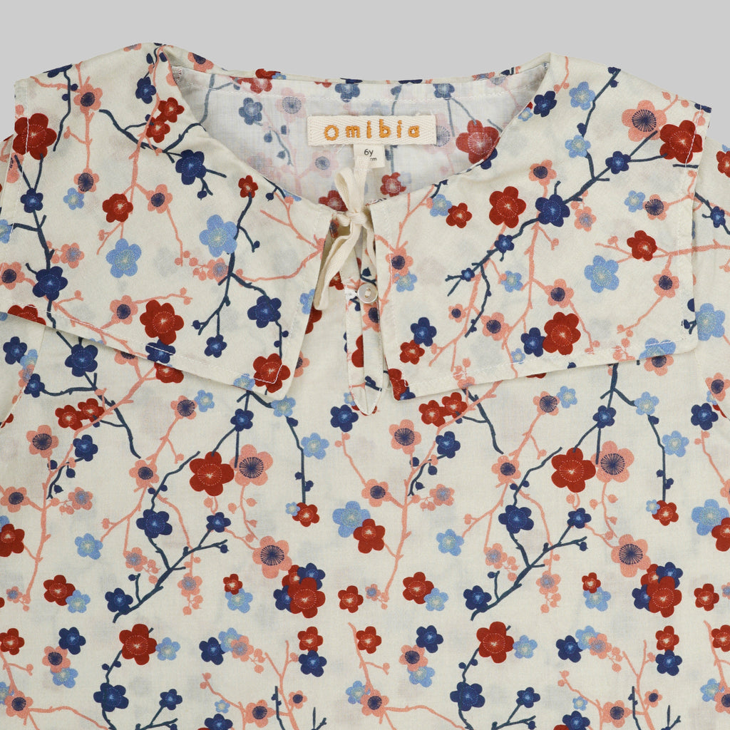 DELIA Top Child Cherry Flower Top