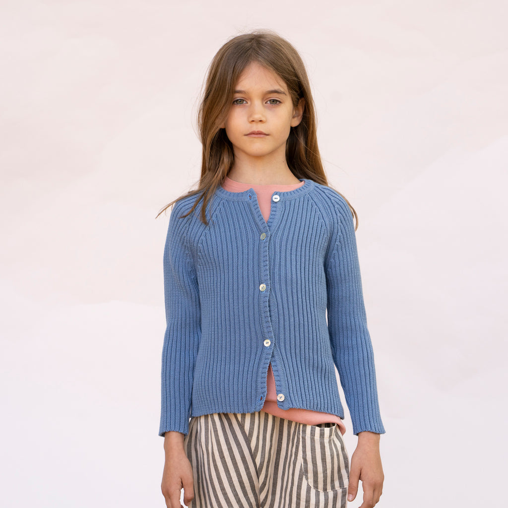 MONET Cardigan Child Pastel Blue