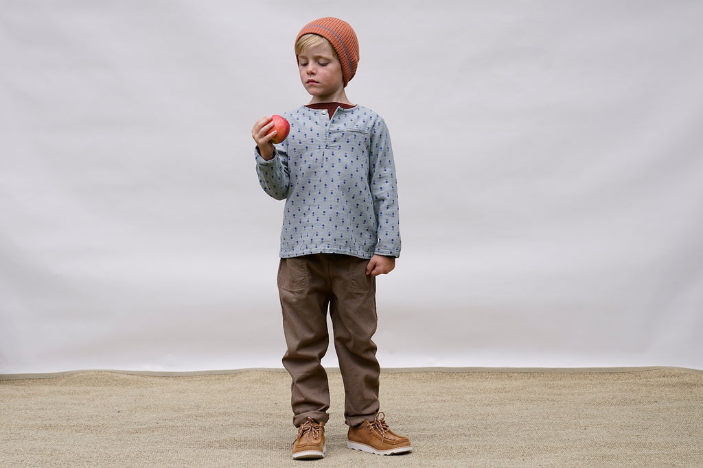 TRUMAN Trousers Child Storm Blue