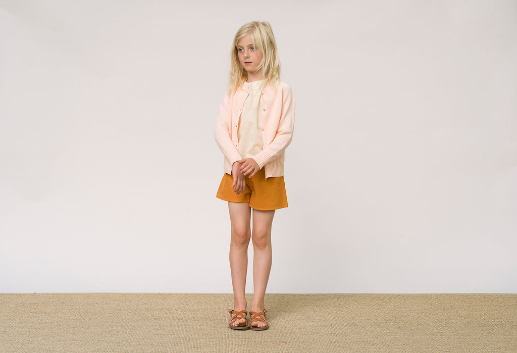 FRIDA Cardigan Child Peach