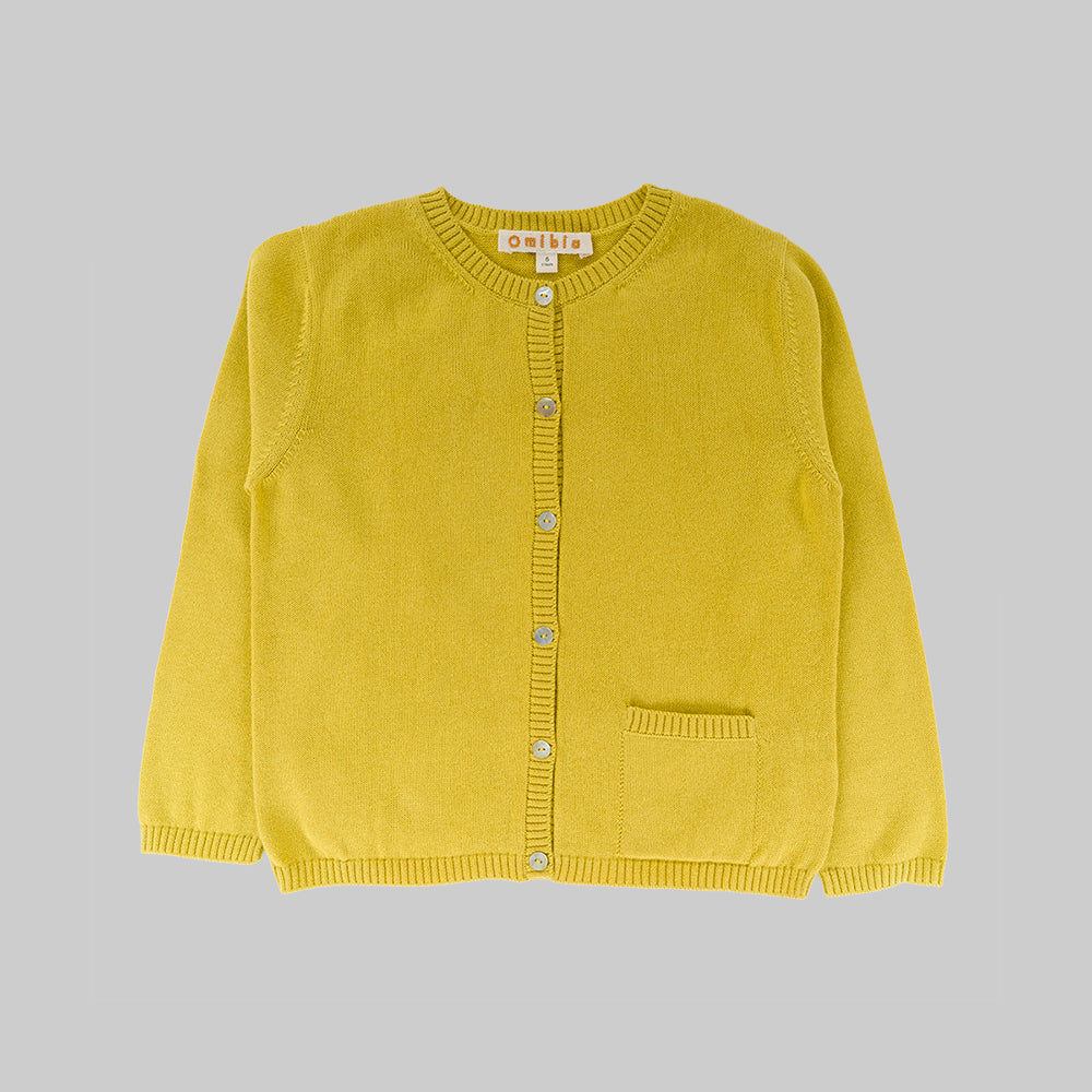 FRIDA Cardigan Child Lime