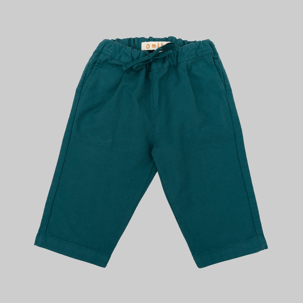 GOLDY Trousers Aqua Green Baby