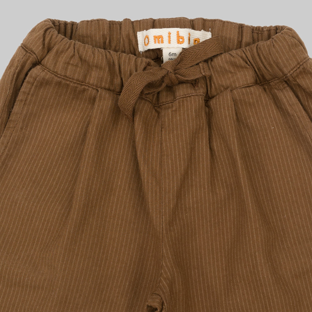 GOLDY Trousers Walnut Stripes Baby