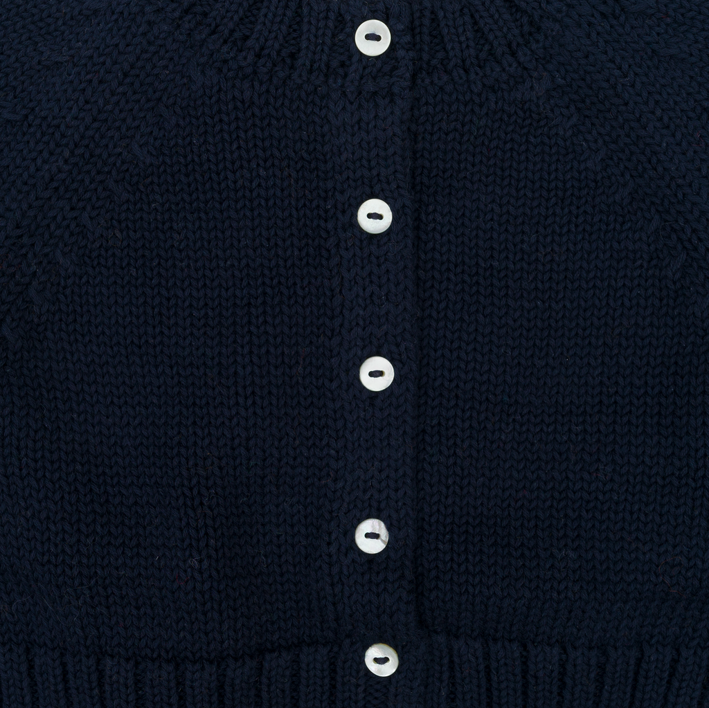 HOLLY Cardigan Navy Baby