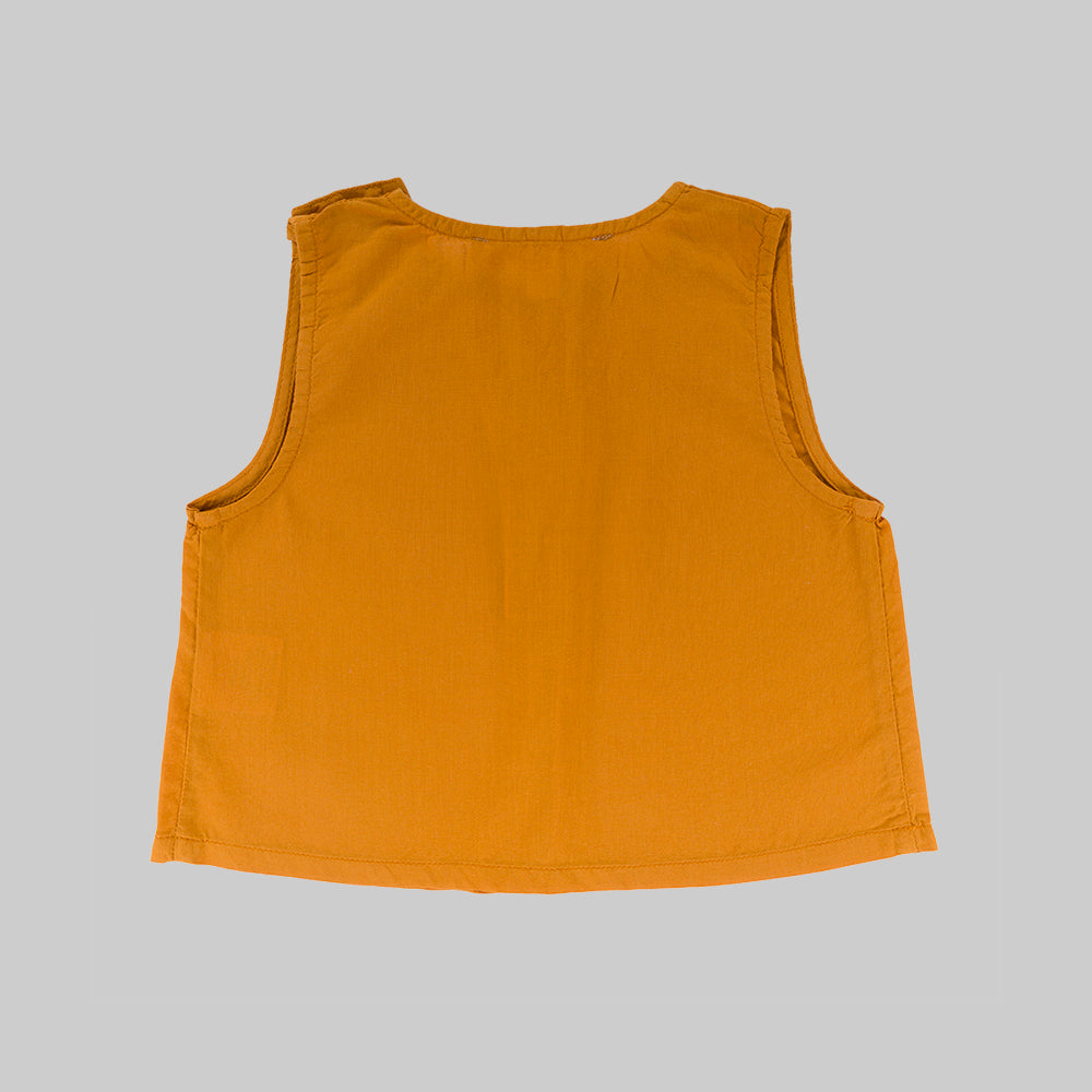 JASMINE Top Child Sunrise Orange