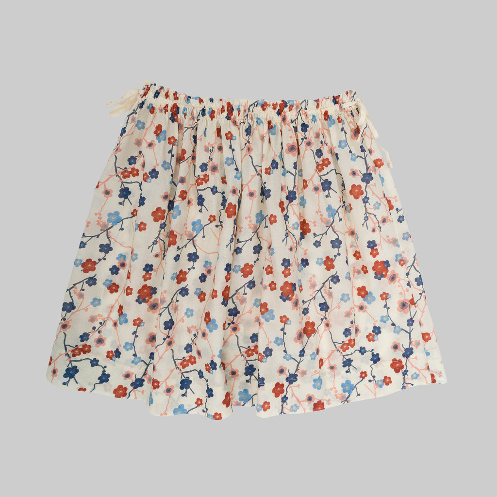 LIZA Skirt Child Cherry Flower