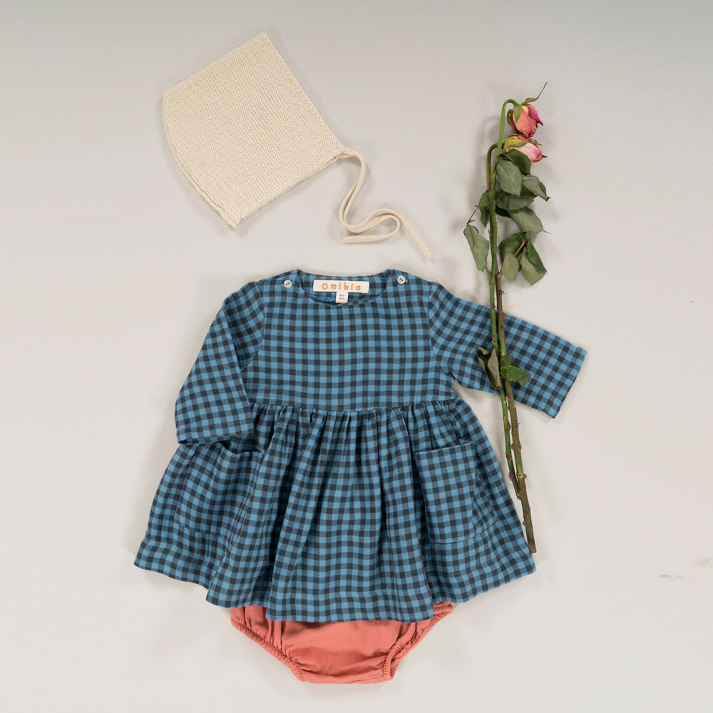 CASSIMA Dress Square Print Baby