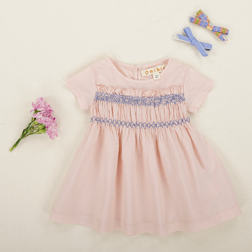 LOVE Dress Baby - Pale Rose