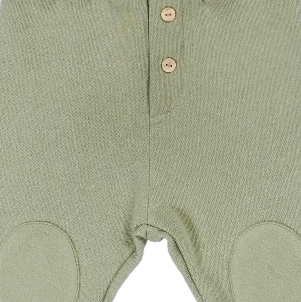 MATEO Trousers Olive Green