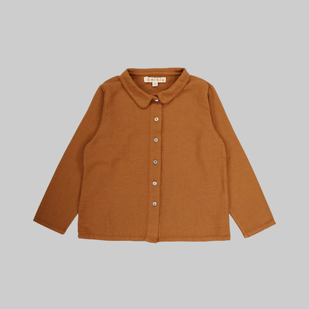 ALCALA Shirt Child Terracota