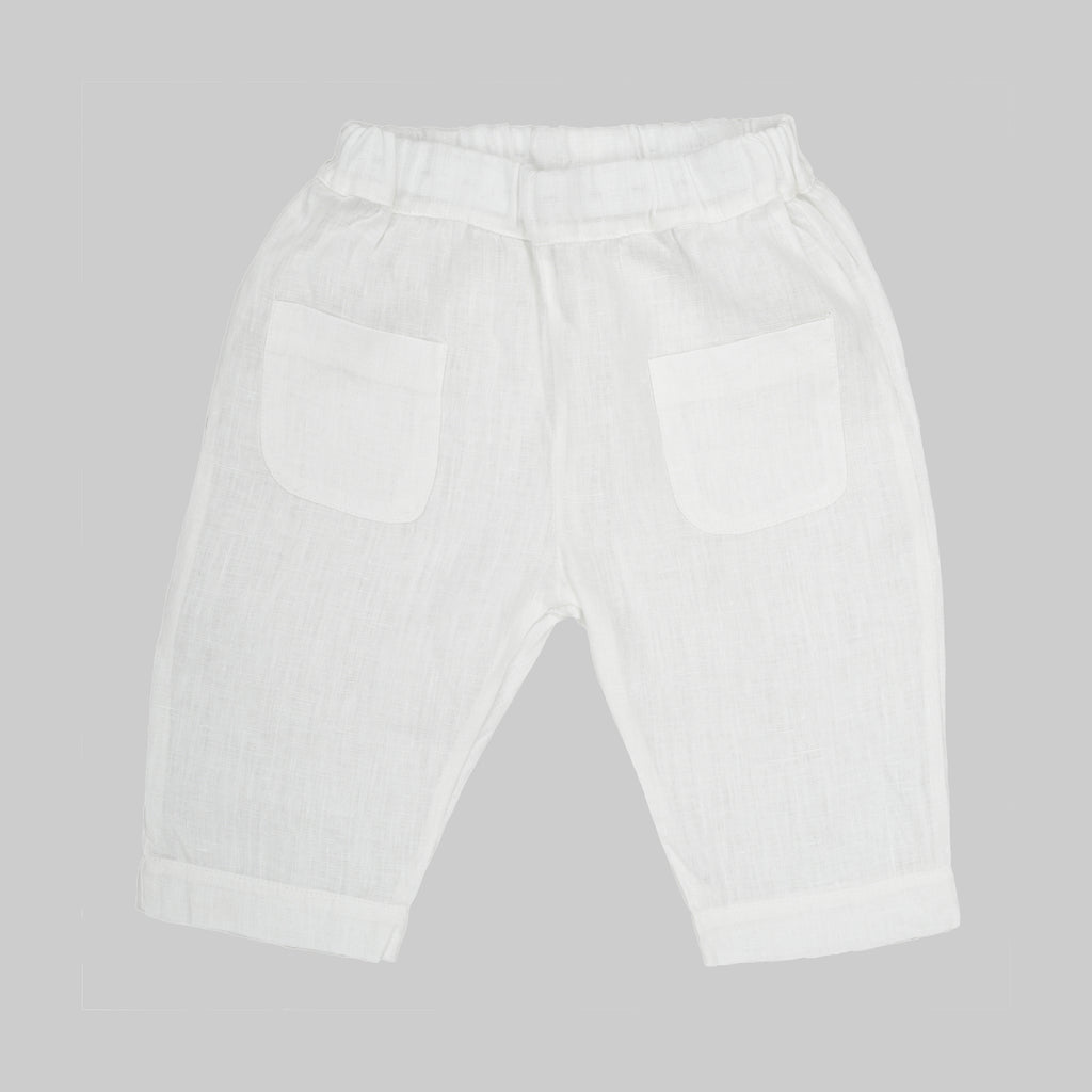 NANI Trousers Baby White