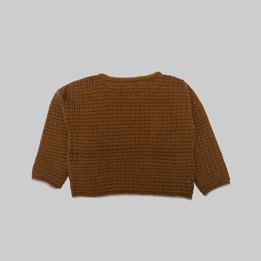NOLAN Jumper Brown Baby
