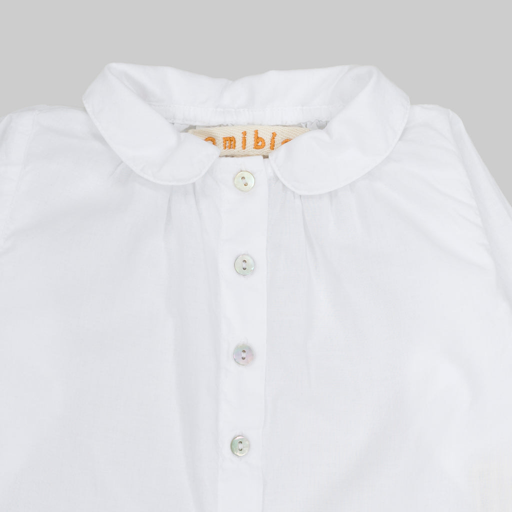 NOLAN Top Baby White