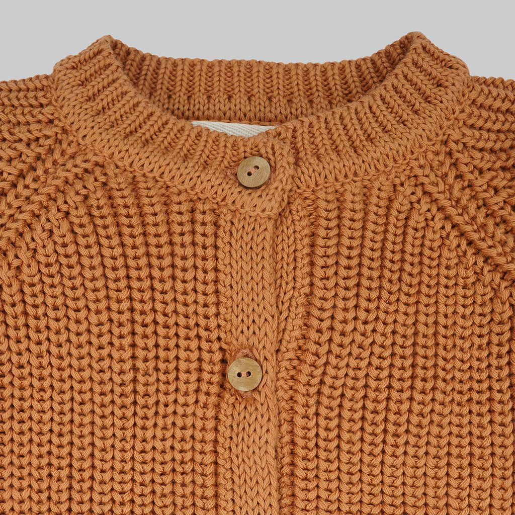 OKA Cardigan Baby Papaya
