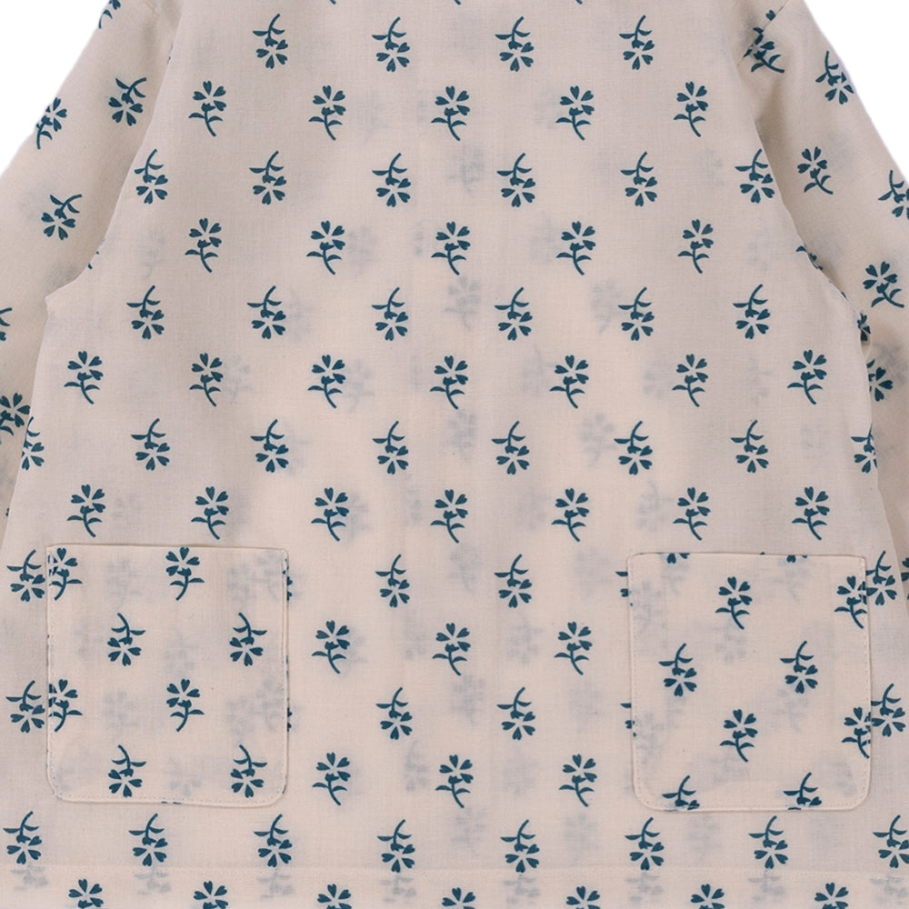 OLIVER Shirt Baby Blue Flower