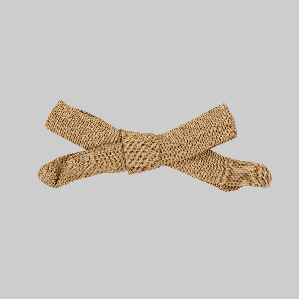 OLIVIA Hair bow Baby - Desert Tan