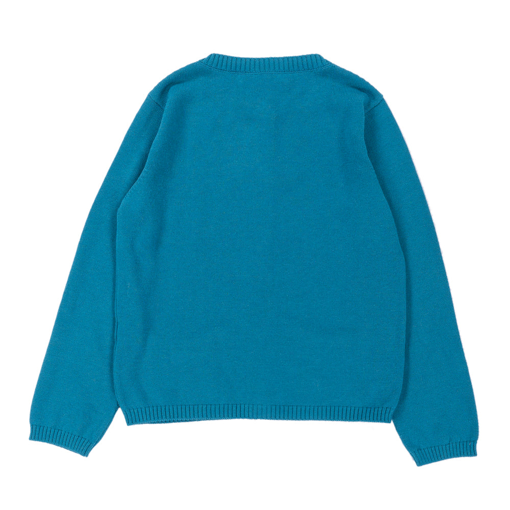 RICO Cardigan Child Ocean Blue