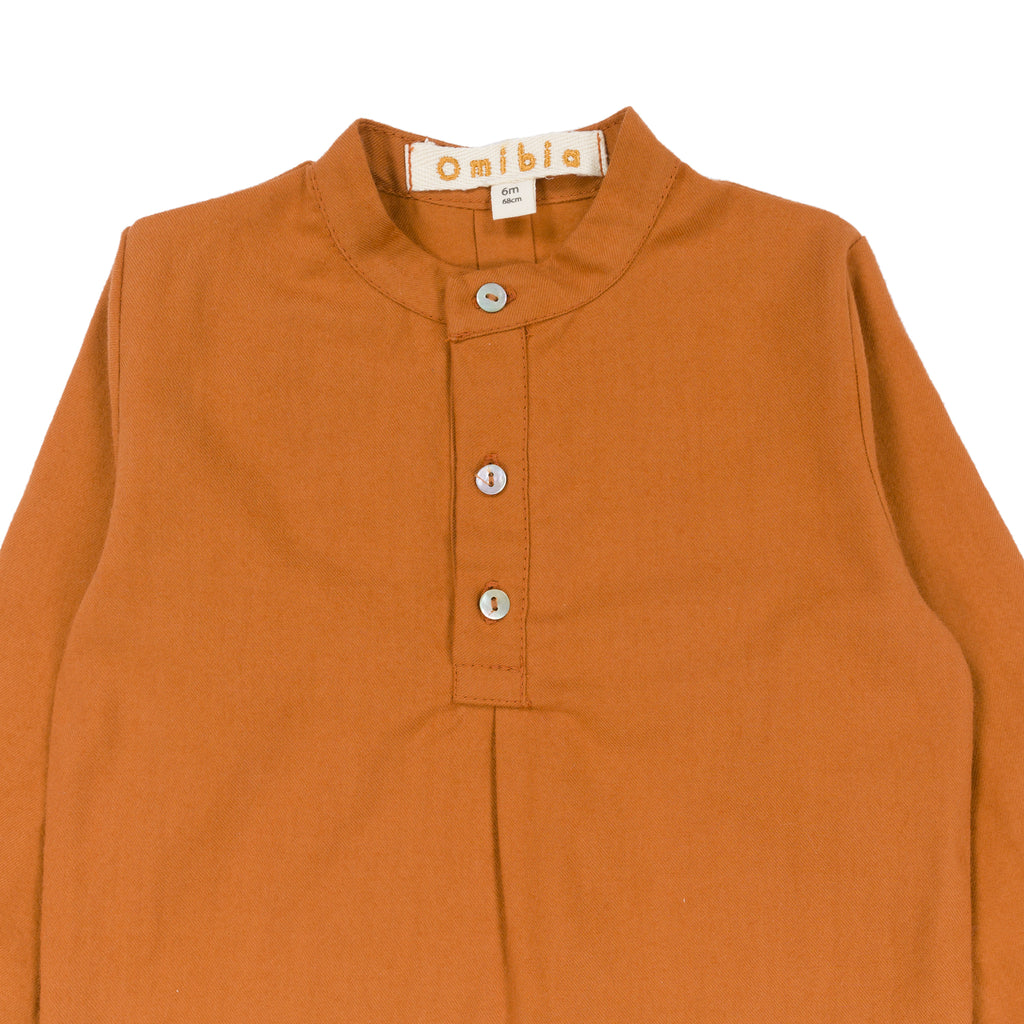 RUBEN Baby Shirt Orange