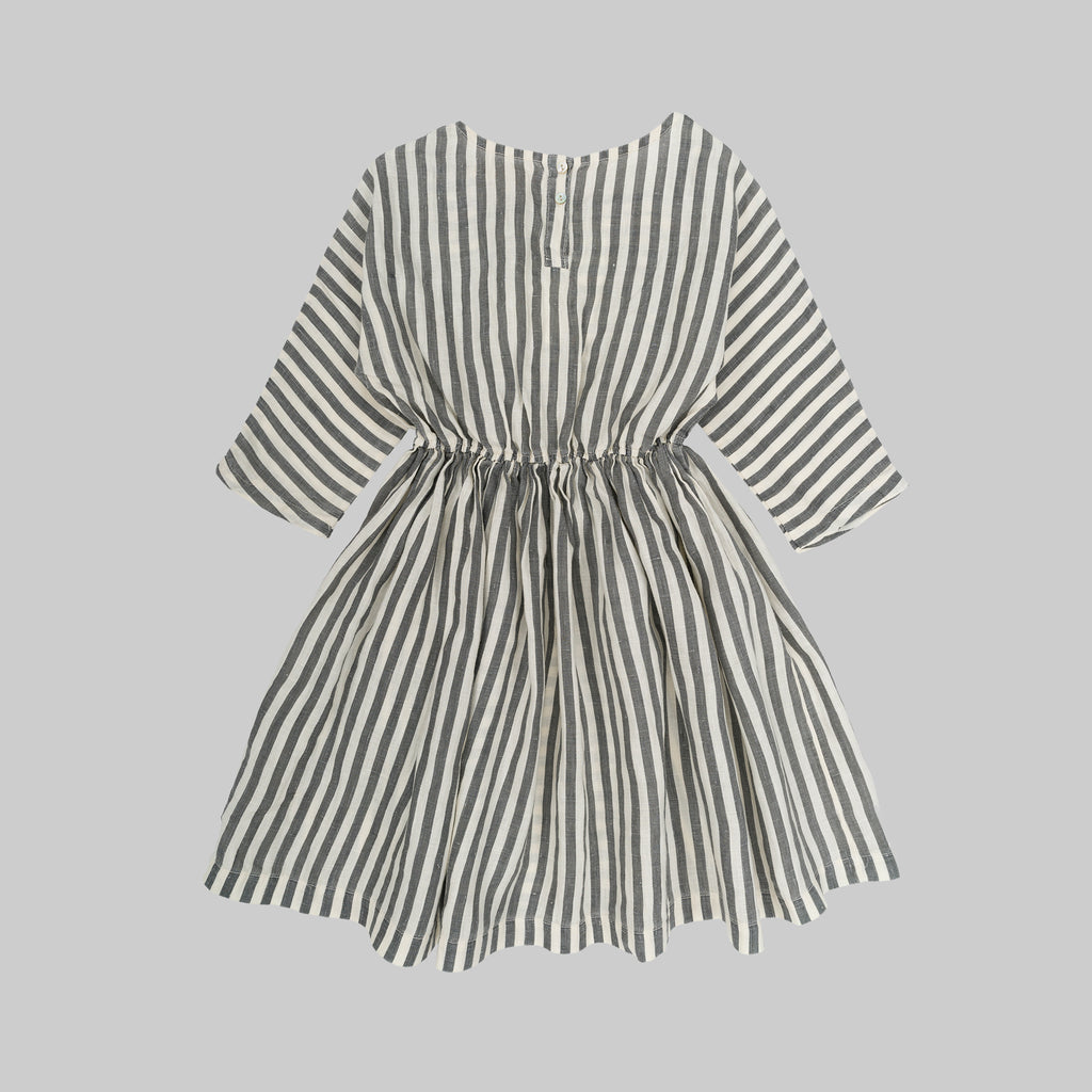 SOPHIA Dress Child Flax Stripes