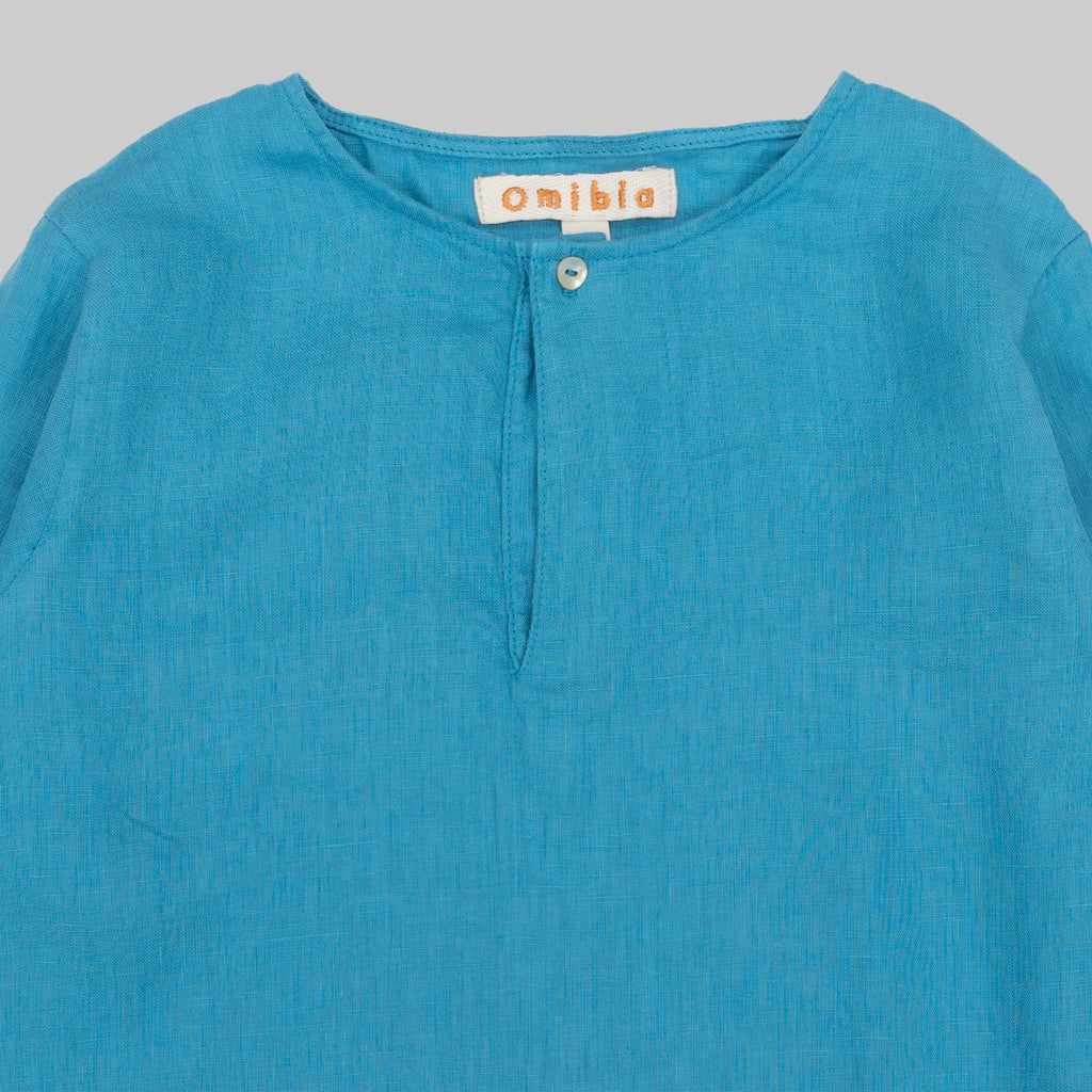 TABAGO Shirt Child Capri Blue