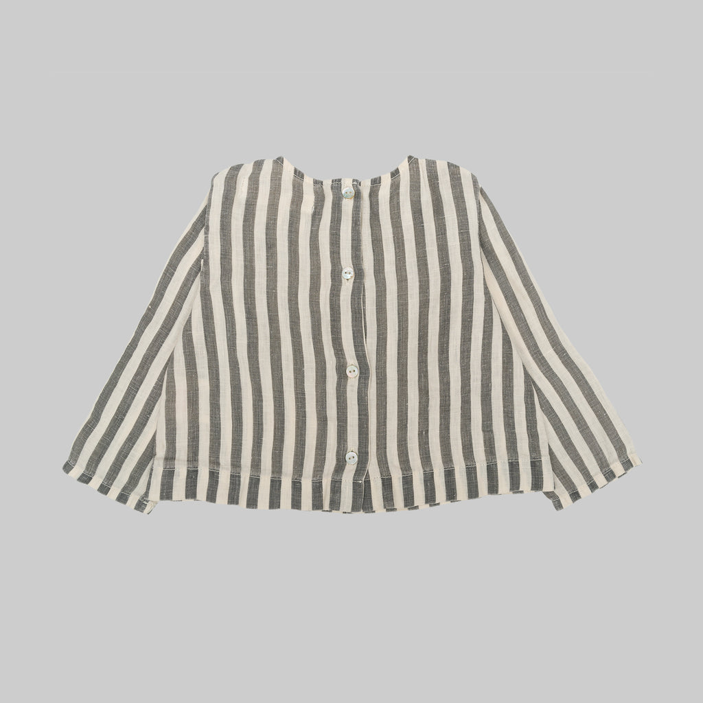 TABAGO Shirt Baby Flax Stripes
