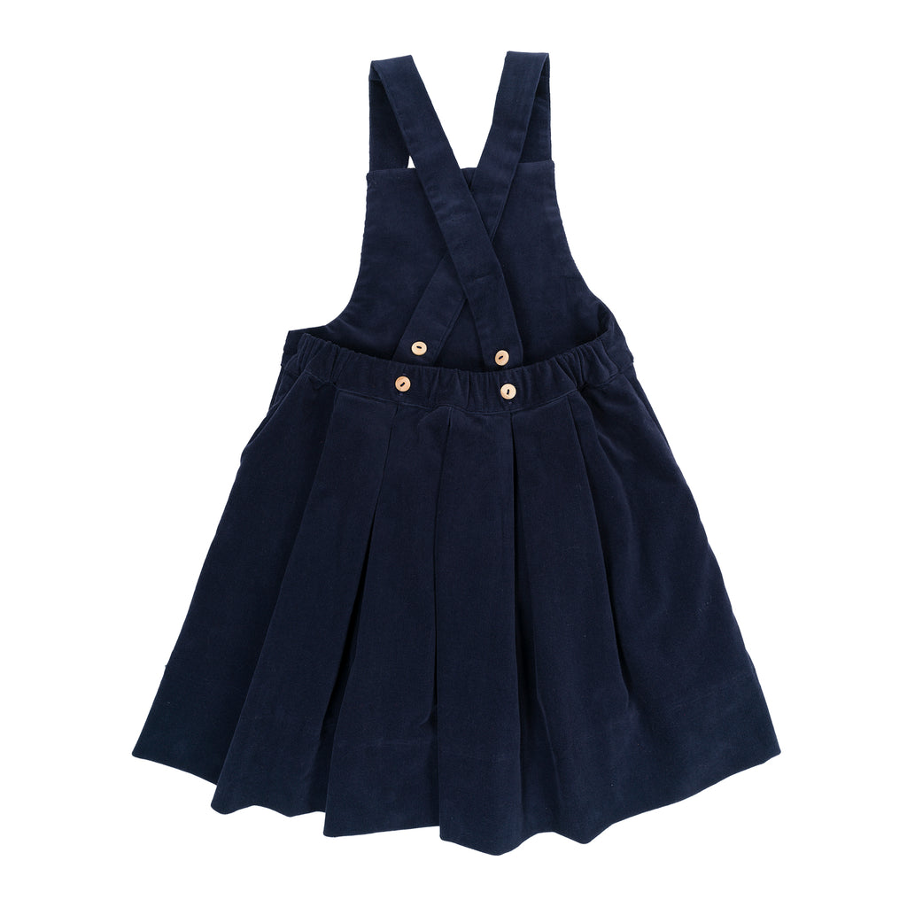TESSA Baby Dress Steel Blue