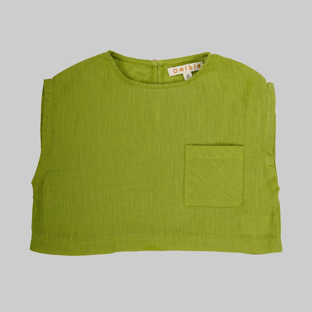 TULA Top Child - Apple Green
