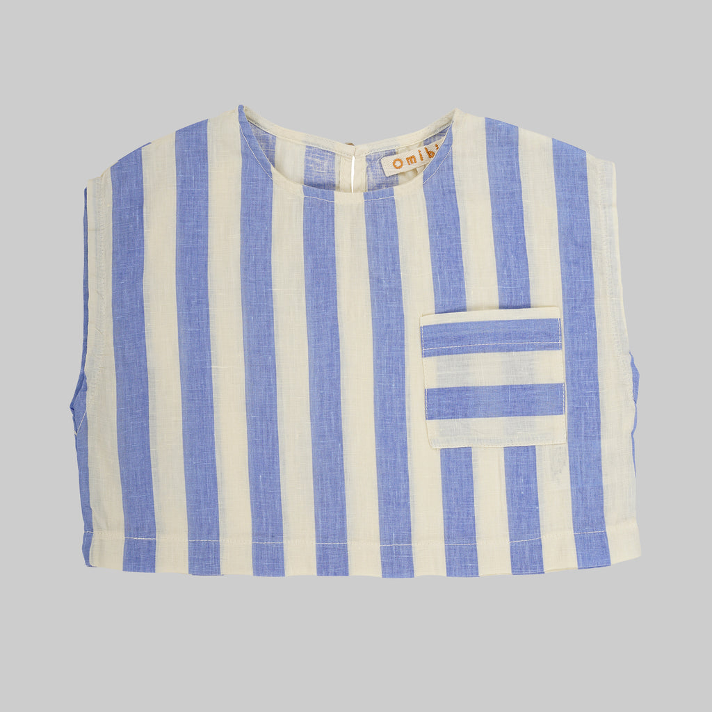 TULA Top Child - Stripes & bone