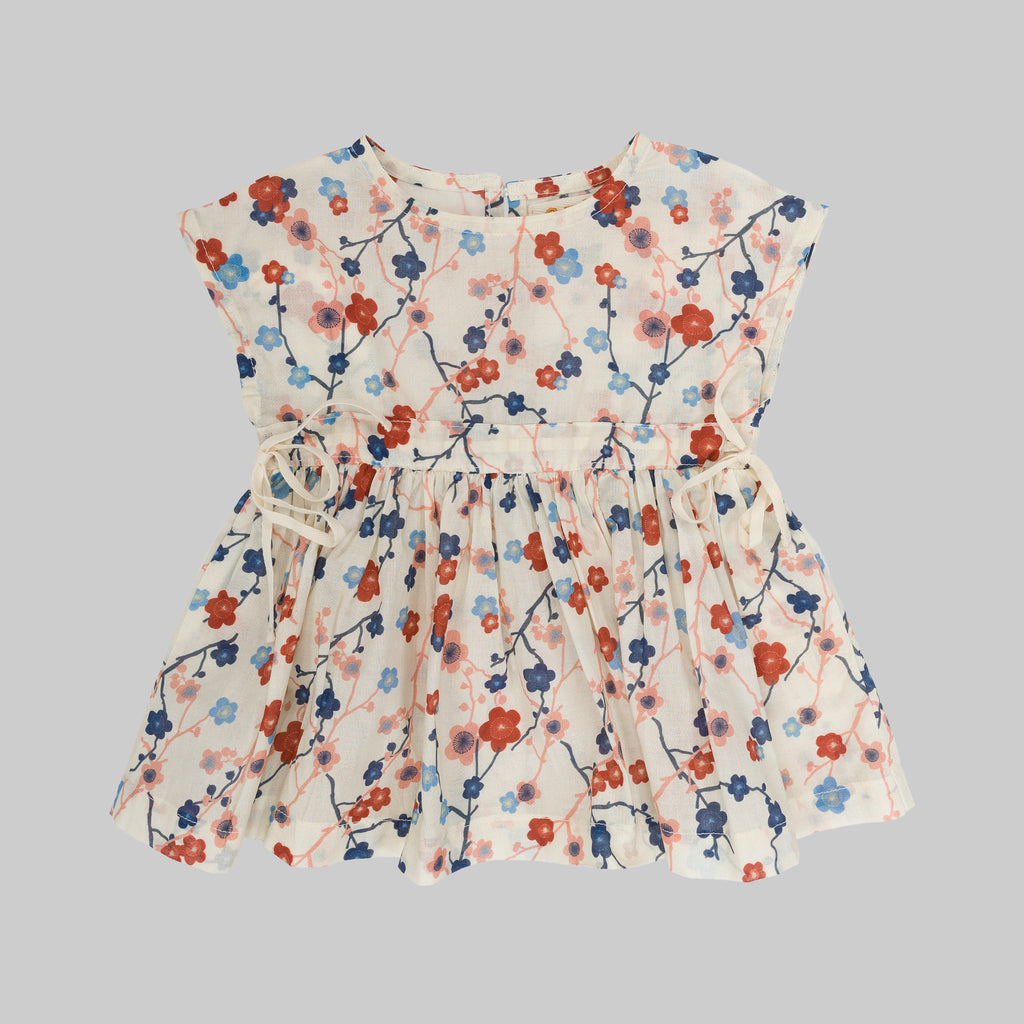 TULIPA Dress Baby Cherry Flower