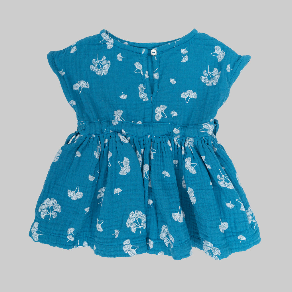 TULIPA Dress Baby Ginko Capri Blue