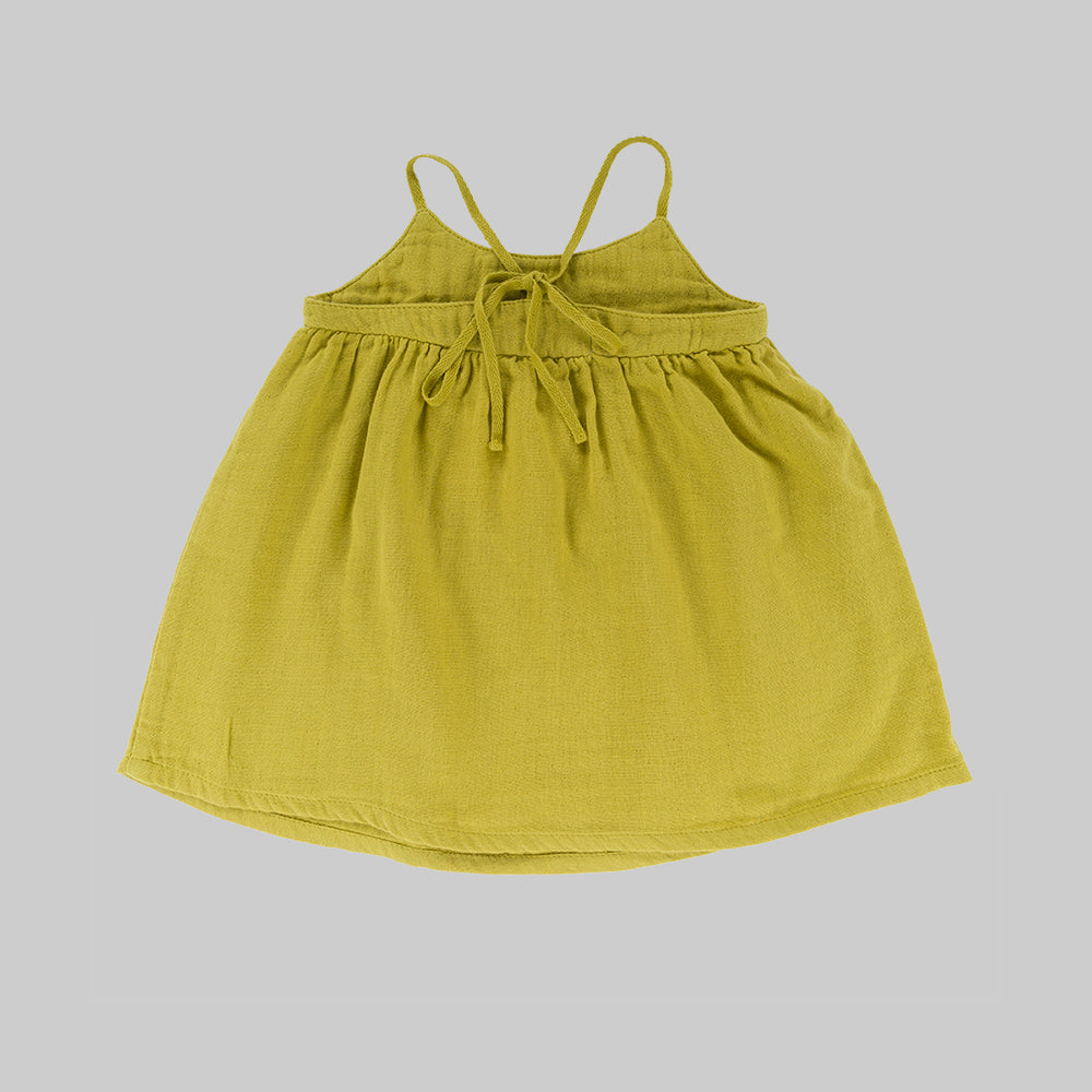 VIOLETA Dress Baby Lime