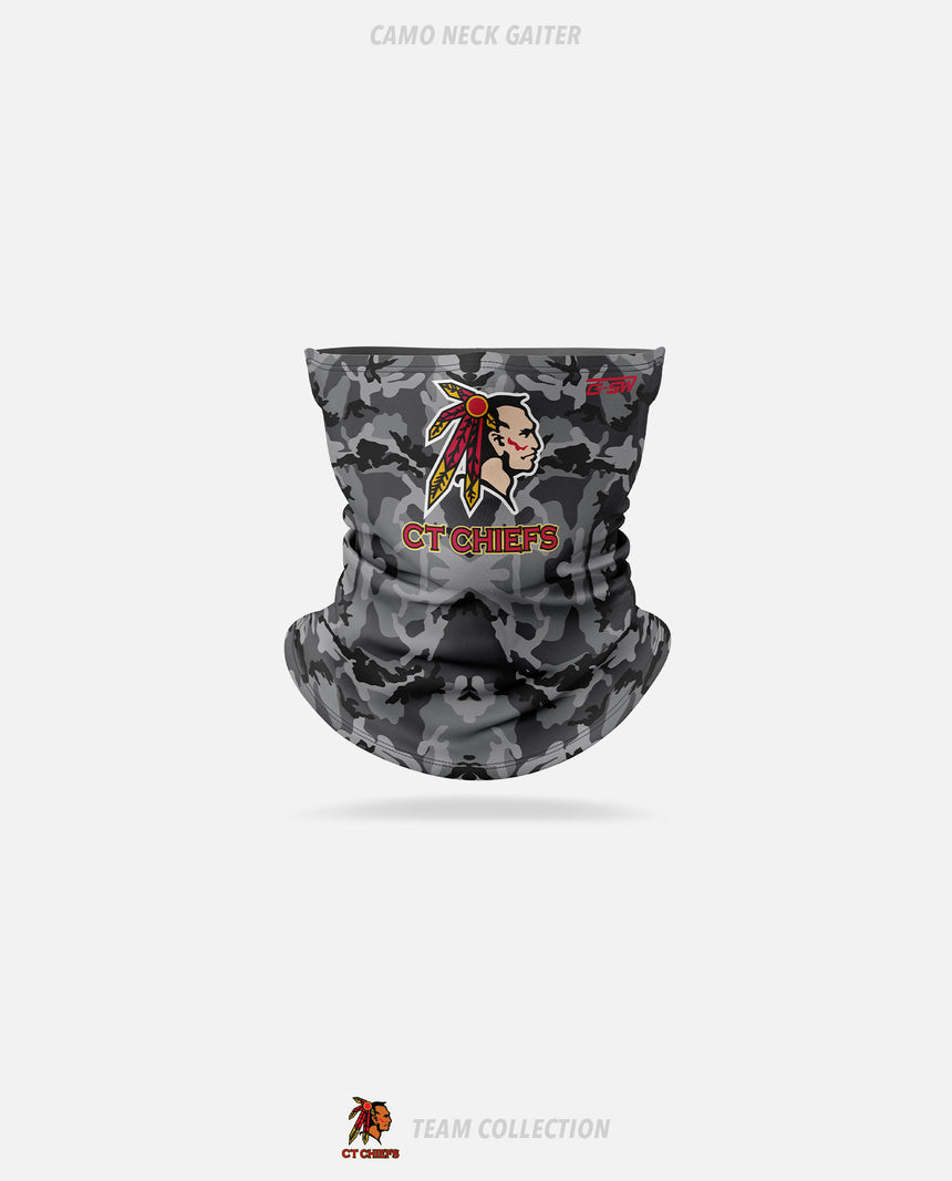 CT Chiefs Camo Neck Gaiter - GSW Team Collection