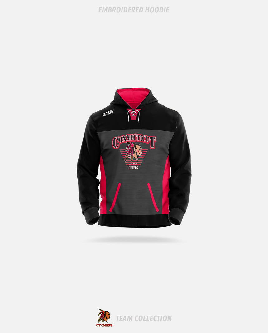 CT Chiefs Embroidered Hoodie