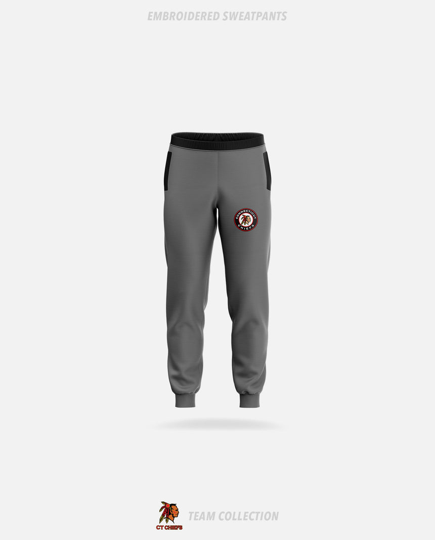 CT Chiefs Embroidered Sweatpants - GSW Team Collection