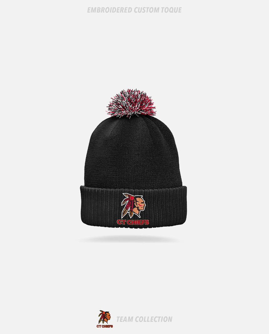 CT Chiefs Embroidered Custom Toque - GSW Team Collection