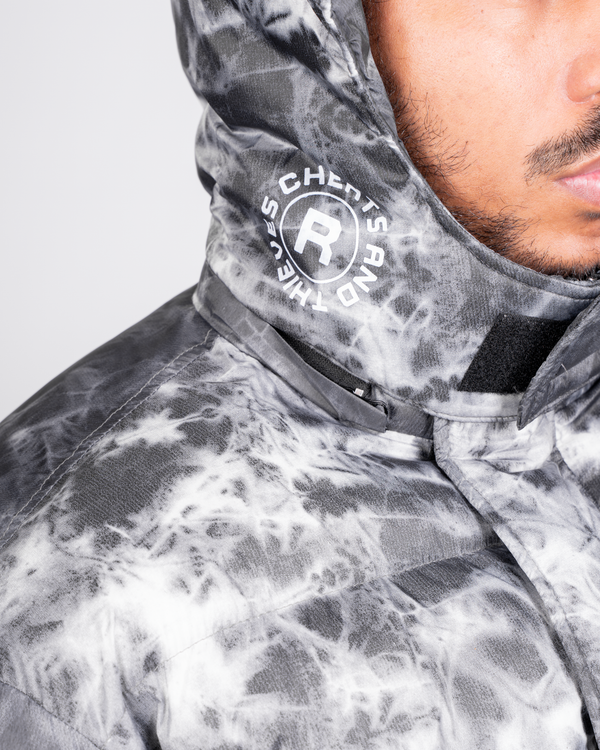 Orion Puffer Jacket - Tie Dye