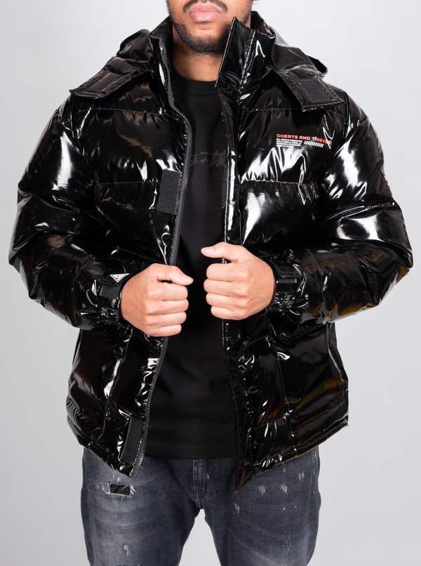 Orion Puffer Jacket - Black