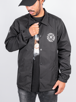 Union Coach Jacket - Black