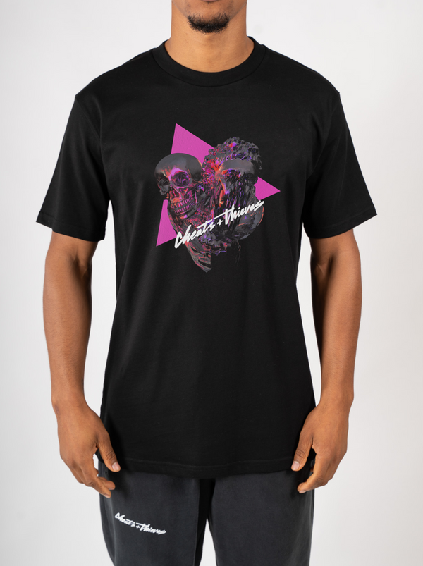Vaporwave T-Shirt - Black