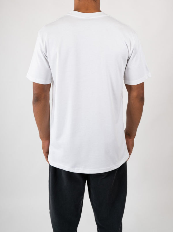 Paper CT Logo T Shirt - White