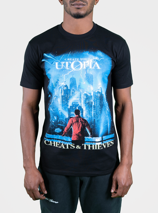 Utopia T-Shirt - Black