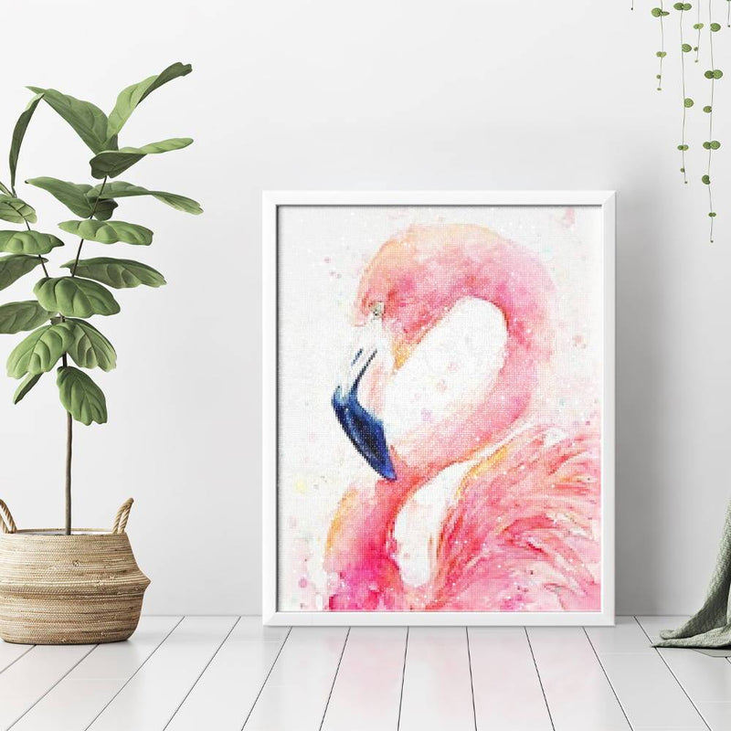 Flamingo Picture Diamond Painting - 3