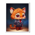 Cartoon Fox Diamond Painting - 1