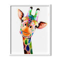 Cartoon Giraffe Diamond Painting - 1