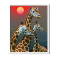 Giraffe Family Diamond Painting - 1