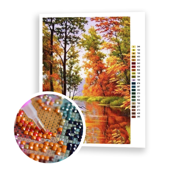 Diamond Painting Autumn colors