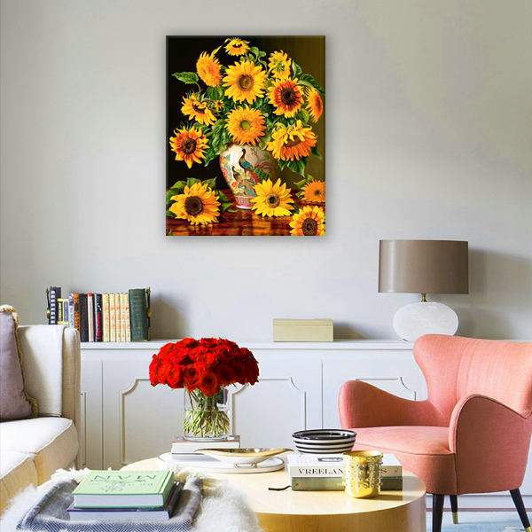 Diamond Painting Sunflower bouquet