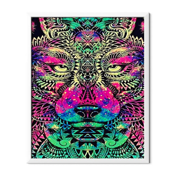 Lion Special Shaped Diamond Painting - 1